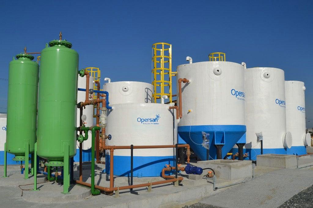 O tratamento de águas e efluentes O&M do Grupo Opersan